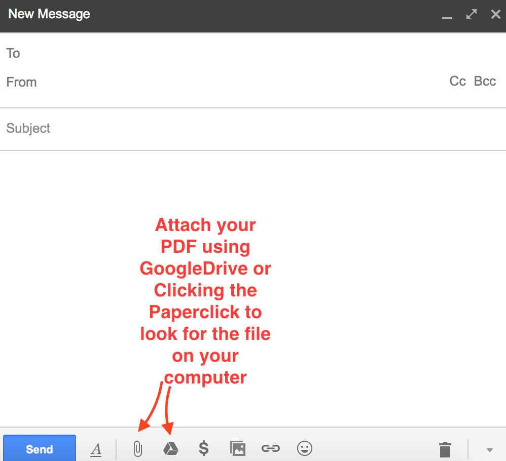 Screenshot Gmail Compose Email